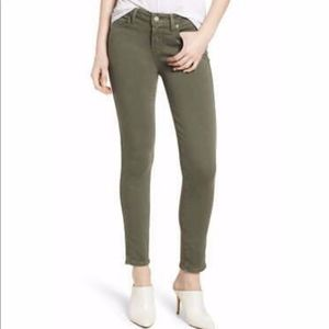 New Paige Verdugo Ankle Faded Vine Skinny / 28""